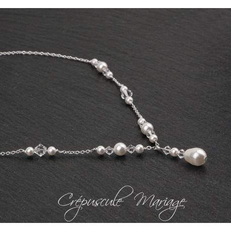 Collier mariage LILY