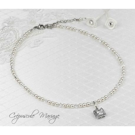 Collier mariage LOUISE
