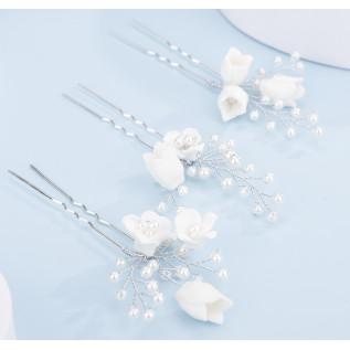 Collier en argent 925 sur fine chaîne et pendentif poire en cristal Swarovski de couleur crystal