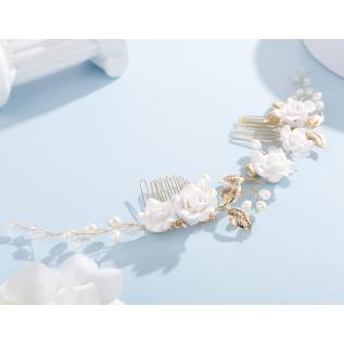 Boucles d'oreilles en argent 925 et pendentifs étoile en cristal Swarovski de couleur crystal