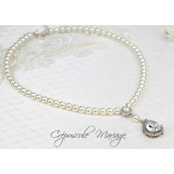 Collier mariage SISSI
